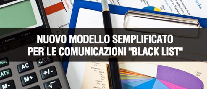 La comunicazione Black List diventa annuale con limite di esonero a 10.000 euro