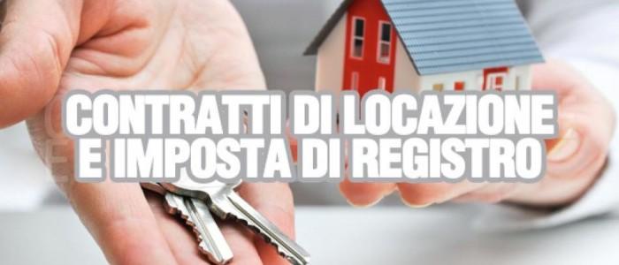 Registrare i contratti di locazione col Modello F24