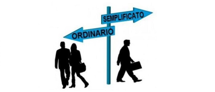 REGIME ORDINARIO: CONTABILTÀ SEMPLIFICATA O ORDINARIA