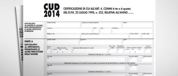 CUD 2014, entro fine mese la consegna della certificazione unica