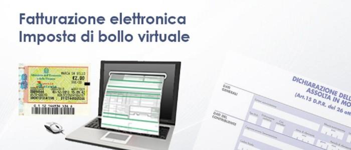 La marca da bollo sulle fatture elettroniche inviate via mail